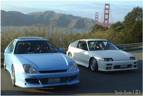 Turbo Prelude and All Motor CRX (Frank and Johnny)